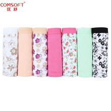 7PCS Ladies Panties 100%