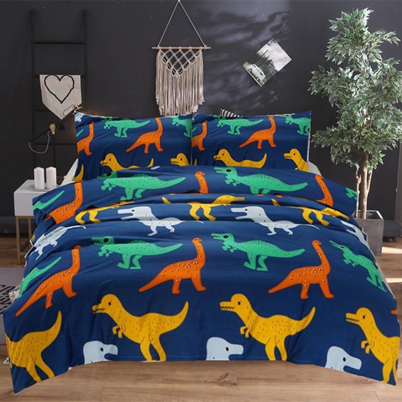 Bonenjoy Dinosaur Bedding Set Cartoon Kids Bedding Sets ...
