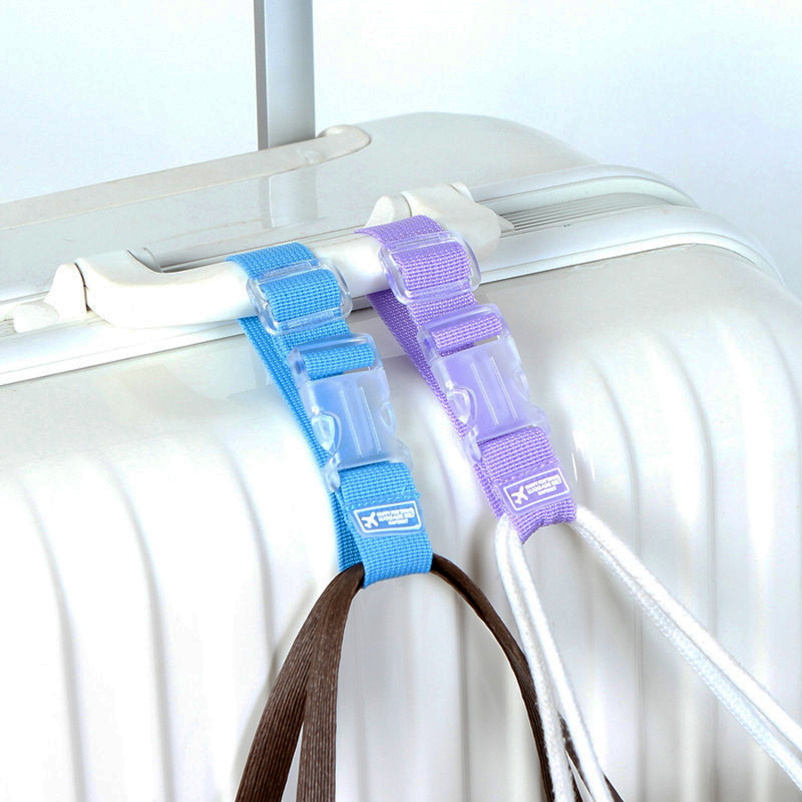 MANJIANGHONG Adjustable Nylon Luggage Accessories Hanging