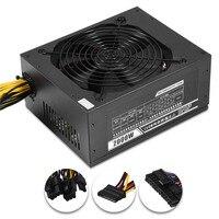 2000W Modular Mining Power Supply PSU For 8 GPU Eth Rig Ethereum Miner EM88