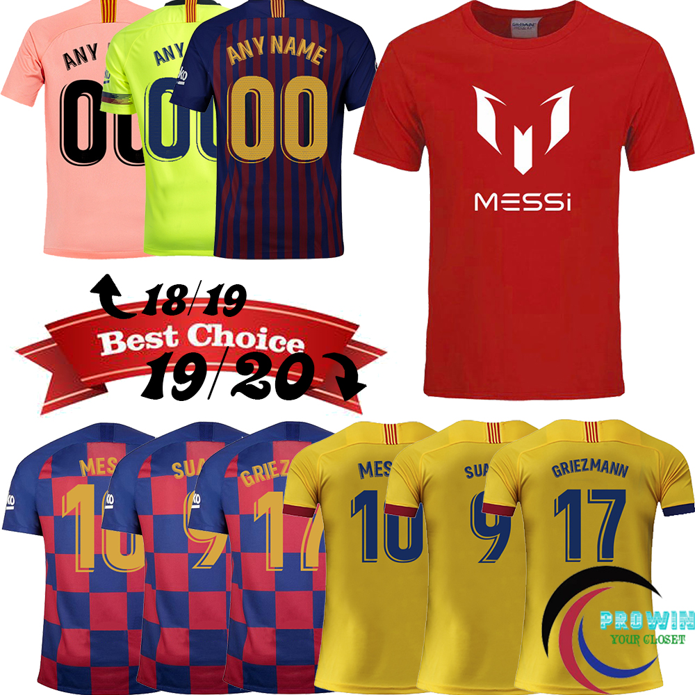 best loved e4a08 28849 2019/2020 Messi Camiseta Fashion Men's Clothing T Shirt S ...