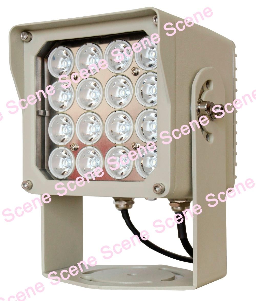 IP66 Moyenne inférieure ou égale à 20 W, pic 40 W LED LUMIÈRE STROBOSCOPIQUE LED IR lumière infrarouge lampe flash lampe Extérieure LED lampe