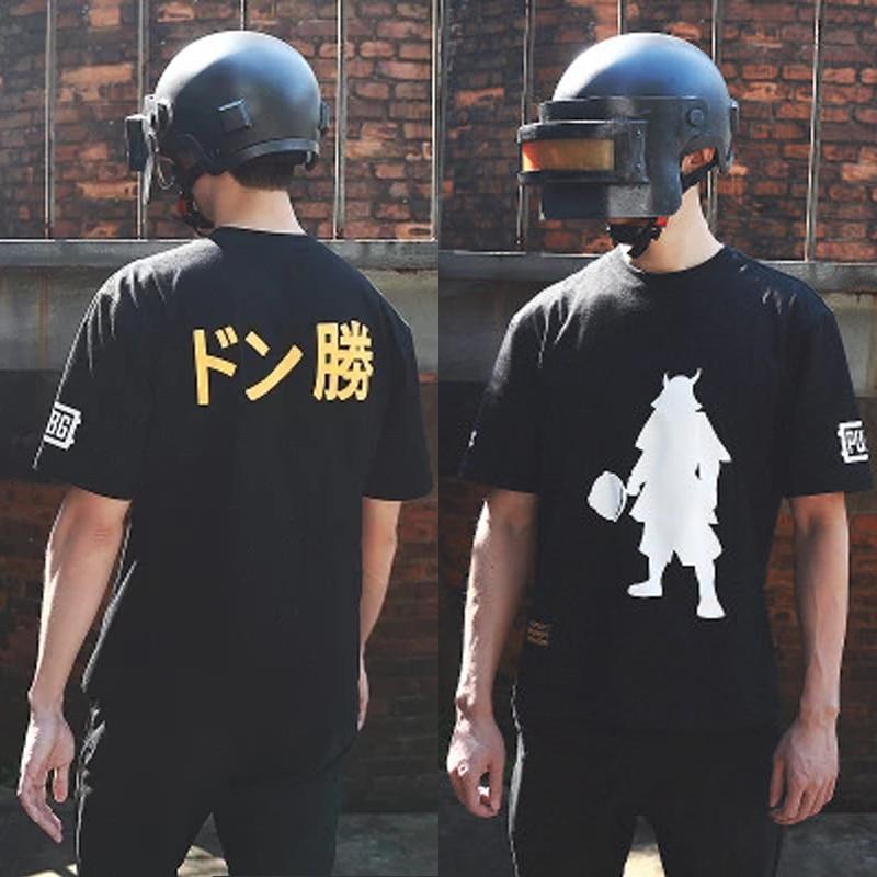 PUBG Playerunknown S Battlegrounds CosplayT Shirt The God Of The Pan Japan Server Commemorative Shirt Tshirt