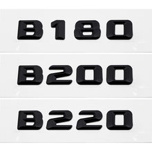 Автомобильные аксессуары наклейка с номером в багажнике для