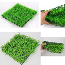 Artificial Water Plastic Green Grass Plant Lawn Fish Tank Decor Eco-Friendly Aquarium Ornaments