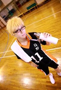 Haikyuu Cosplay Костюм Аниме Karasuno High School Club Hinata Shyouyou Футболка спортивная одежда косплей униформа