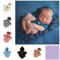 Nuovo bambino siamesi vestiti di lana lavorata a mano materiale morbido cotone latte fotografia costumi