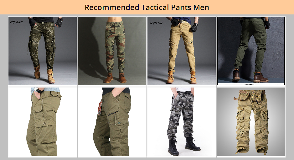 工装长裤导购图