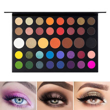 39 Colors Eye Makeup Nudes Palette Matte Eyeshadow Pallete Glitter Powder Eye Shadow Earth Shadow Set