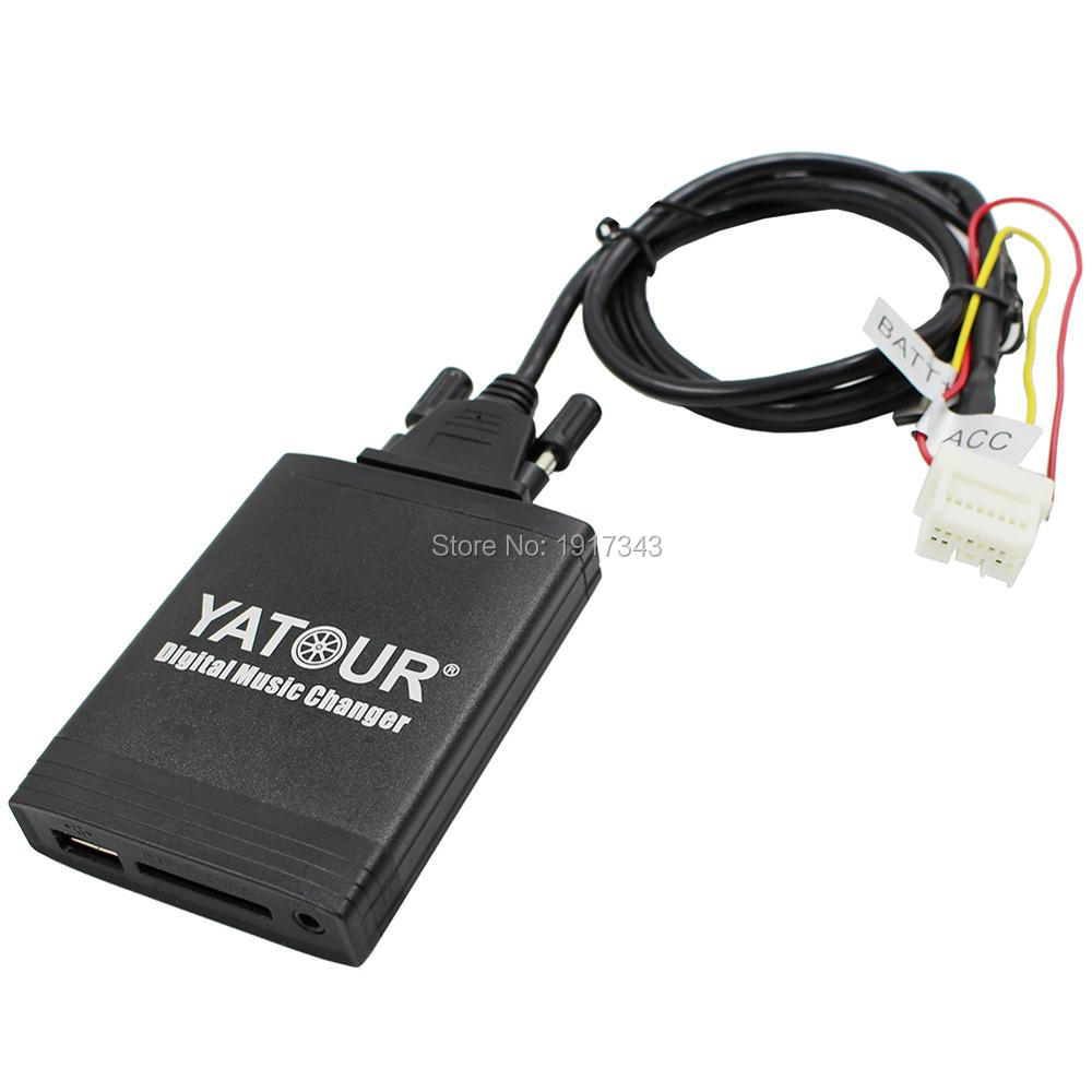 Автомобильный цифровой музыкальный адаптер USB SD Aux MP3 интерфейс стерео радио для Fiat Bluetooth телефон плесень и контроллер опционально - 4