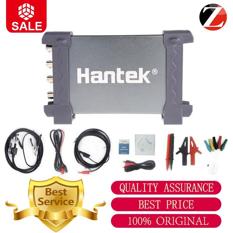 Hantek osciloscópio automotivo 6074BE osciloscópio portátil PC USB 2.0 Interface 4CH 70MHZ Padrão Equipado Sobre 80 Tipos
