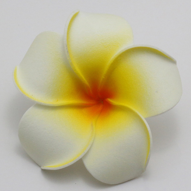50pcs big 6cm plumeria hawaiian foam frangipani flower artificial 50pcs big 6cm plumeria hawaiian foam frangipani flower artificial silk fake egg flower for wedding party mightylinksfo