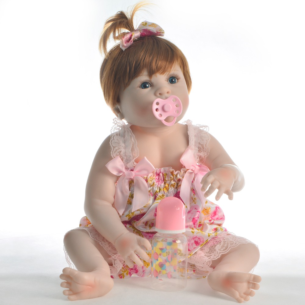 KEIUMI 23 นิ้วซิลิโคนไวนิล Reborn ตุ๊กตาเด็กทารกตุ๊กตาเด็กทารก Reborn สมจริง 57 ซม.สำหรับเด็กวันเกิดของขวัญ-ใน ตุ๊กตา จาก ของเล่นและงานอดิเรก บน   2