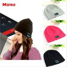 Free Shipping Soft Warm Earphone Hat Wireless Headphones Smart Cap Headset Speaker Mic Bluetooth Headset Hat Hot Selling