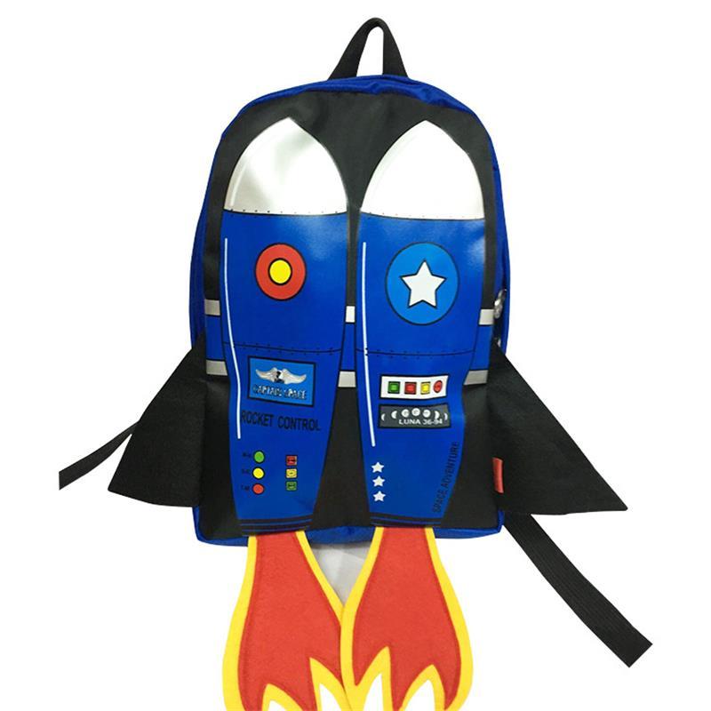 Rocket School Bags For Kids Girls Boys Children Toddler Backpacks Schooltas Nylon Minion Backpack Yellow 2016 Mochila Satchel