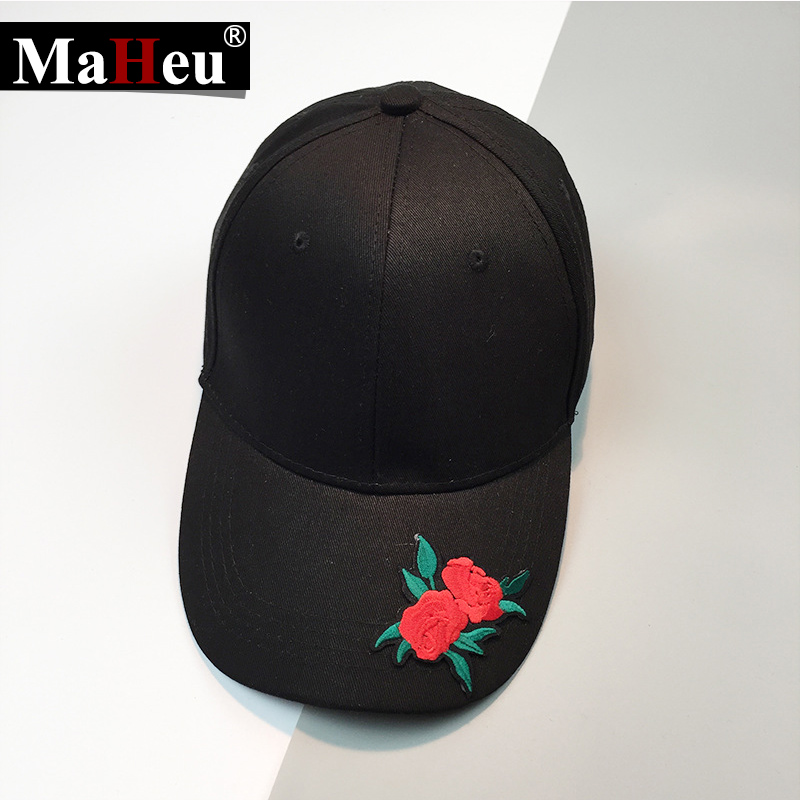baseball caps in bulk simple font handmade rose flower applique spring summer brim cap wholesale china hats for big heads uk