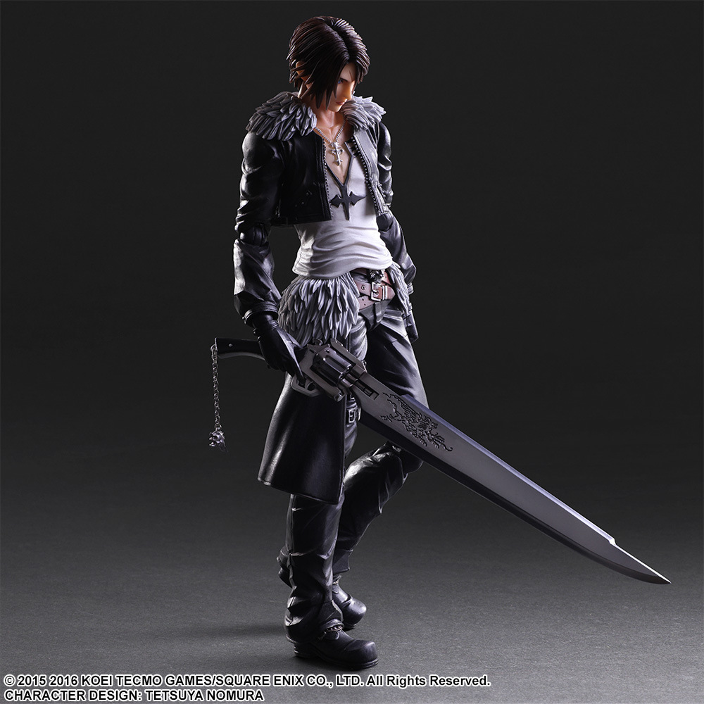 Final Fantasy 8 Play Arts Kai Action Figure Squall Leonhart Collection Anime Model Toys FF 8 Playarts Kai 250MM victoria dahl kai meilė atima protą isbn 978 609 406 652 8
