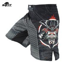 Sotf Zwart Dominante Samurai Fighting Fight Fitness Shorts Tiger Muay Thai Mma Shorts Kleding Boksen Kleding Mma Korte Strijd