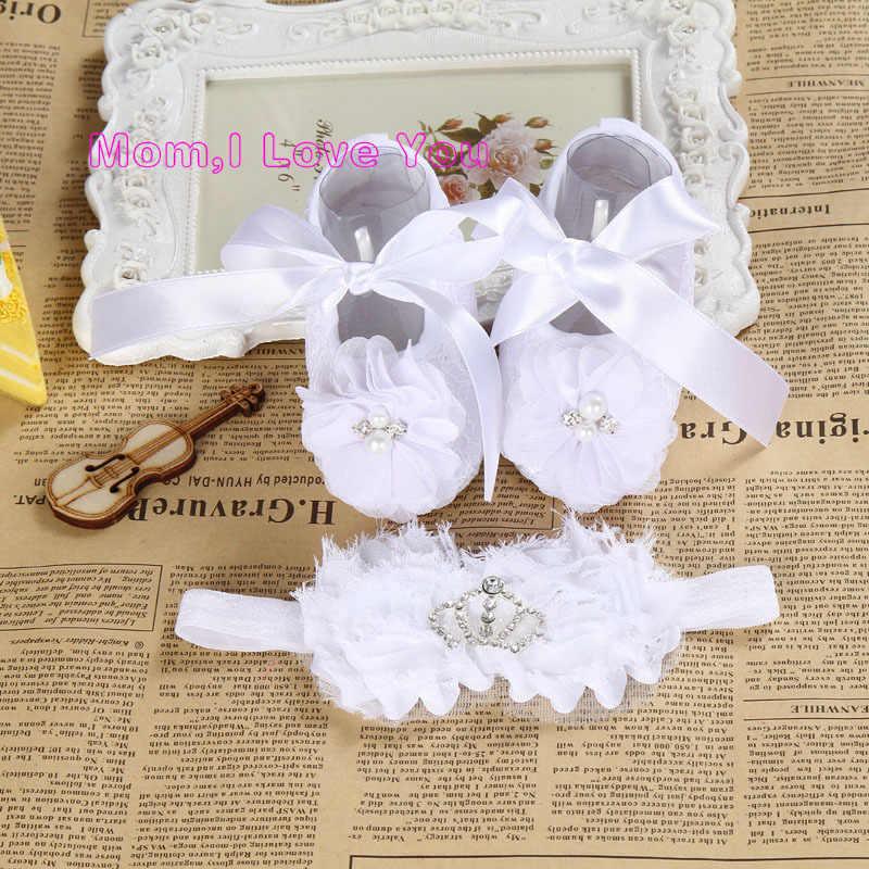 cf61d0ae3 ... Marfil botines recién nacidos bautizo zapatos para la muchacha  venda  infantil del niño zapatos de ...