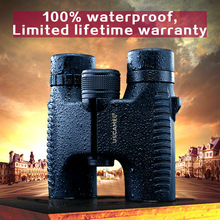 USCAMEL HD 10×26 Binoculars Powerful Zoom Long Range 5000m Professional Waterproof Folding Telescope Wide Angle Vision Hunting