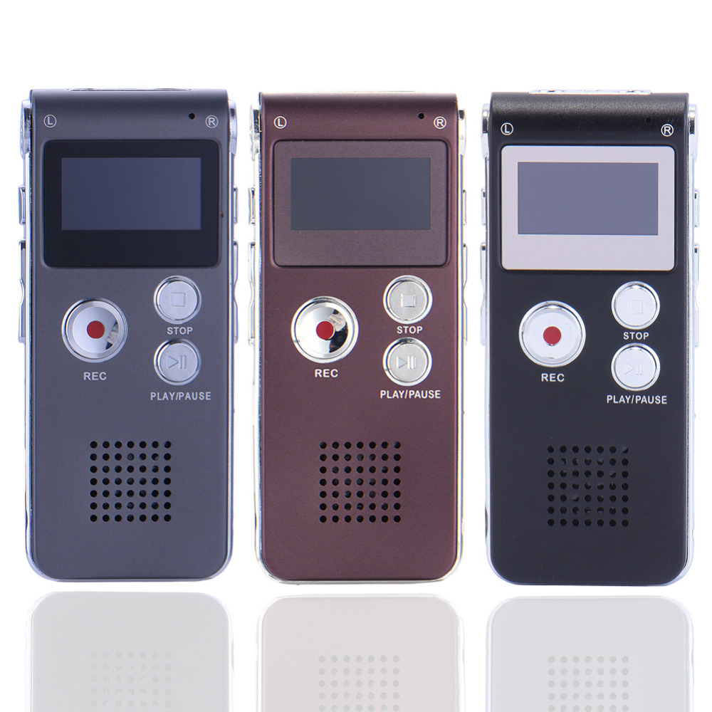 Unterhaltungselektronik 8 Gb 650hr Digital Audio/sound/voice Recorder Diktiergerät Mp3 Player Hohe Qualität Mini Digital Usb Aufnahme Stift