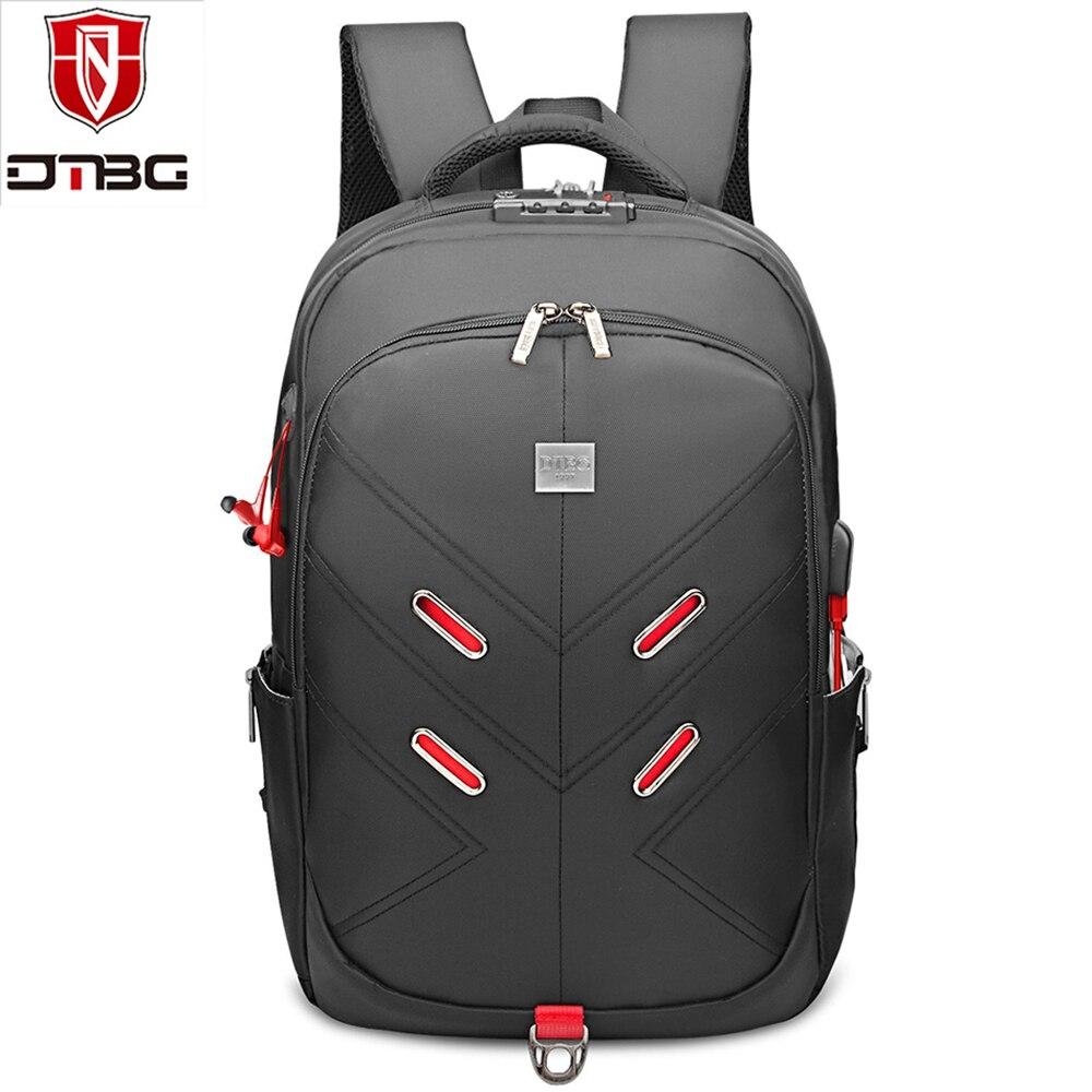 DTBG 17.3 Inch USB Charging Port Laptop Backpack Women Men Business Travel Bag Backpacks Waterproof Anti-theft College Rucksack
