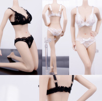 D02 P013 1/6 Scale doll Action Figure model Accessories girl toys Lace underwear set