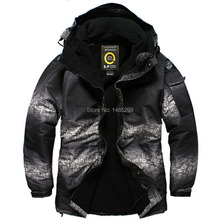 """New Edition""""South play"""" Winter Waterproof 10,000mm Jacket – Two Tone Military"""