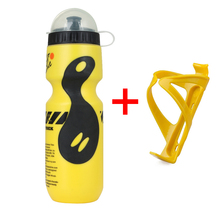 Bike Water Bottle Holder With 650ML Portable Water Bottle Outdoor Sport Drink Jug Cup Travel Climbing Bicycle Cycling Bottle