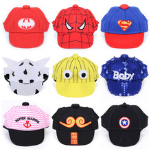 116e0323026 Summer Pet Dog Hats For Small Dogs Cartoon Chihuahua Pug Hat with Ear Holes  Puppy Dog