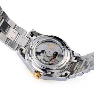 Image 5 - カーニバル女性の腕時計高級ブランド自動機械式時計サファイア防水レロジオ feminino C 8830 8