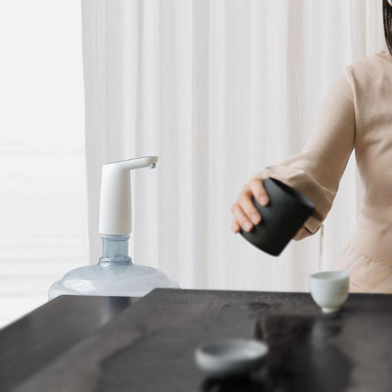 Usb Автоматическая подзарядка беспроводной электрический портативный водяной насос бутылки для воды диспенсер галлон питьевой дозатор для