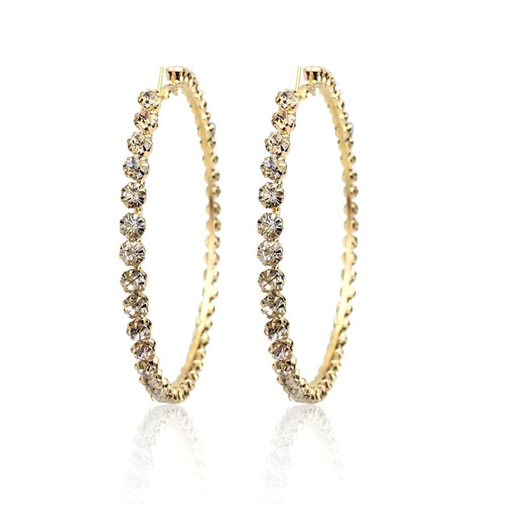 97mm Gold Earrings