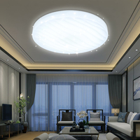 12W 30W 60W Modern Round Square LED Acrylic Ceiling Lamps star effect design Bedroom Kitchen Living room lighting fixtures