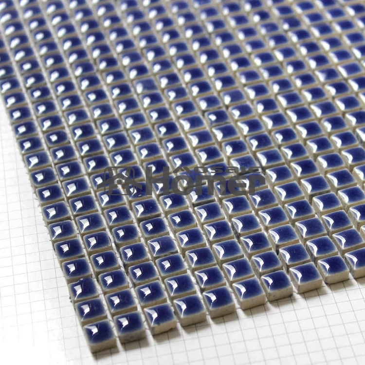 tile sheets for bathroom shipping free navy blue mini glazed ceramic mosaic tile 20890