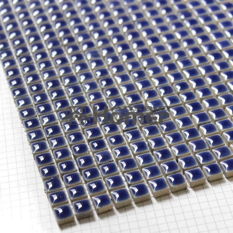 shipping free navy blue mini glazed ceramic mosaic tile sheet 12x12 bathroom shower mosaic floor tiles