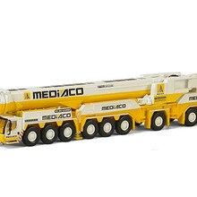 WSI 1: 87 либхер 71-2007 LTM1750-9.1 внедорожный кран Mediaco Инженерная техника литая игрушка модель для сбора, украшения