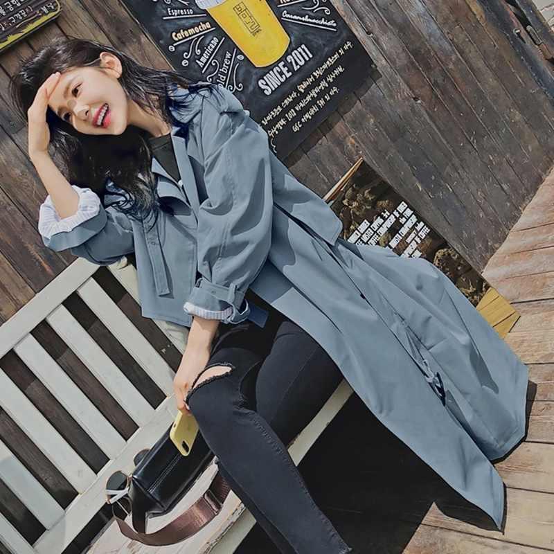 Gabardina para mujer abrigo mujer invierno 2018 nueva moda abrigo de invierno para mujer trenchcoat TA1082