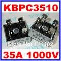Free shopping 20 PCS 35A 1000 V Ponte Retificadora KBPC3510 3510 SEPC marca