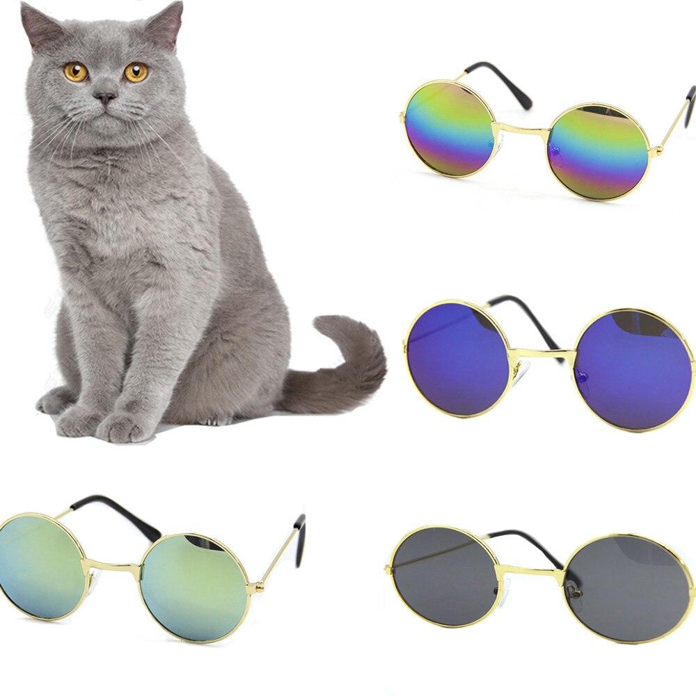 11cm Pet Sunglasses 2018 New Fashion Pet Cat Dog Sunglasses UV Sun Glasses Eye Protection Wear Dog Supplies