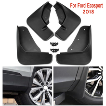 Car Front Rear Mud Flaps for Ford Ecosport 2018 Fender Flares Mud Splash Guards  Mudguard Mudflaps Accessories