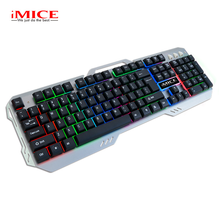 New AK500 Backlight Suspension Mechanical Touch Metal Glow USB Wired Gaming Keyboard