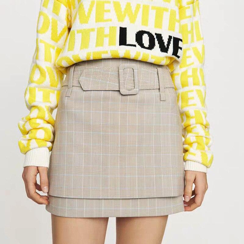 Women Skirt 2019 Spring and Summer New Slim Skirt