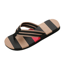 SIKETU Men Summer Shoes Mixed Colors Sandals Male Slipper Indoor Or Outdoor Flip Flops Beach Shoes Flat Sandals A30