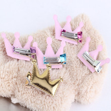Shiny Crown Baby Hairpins For Kids