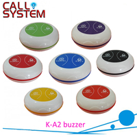 Wireless service bell system customer service number table buzzer K-A2 with signal repeater K-R