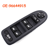 Car accessories For 2008-2013 Peugeot 308 WINDOWS AND MIRRORS SWITCHES Master Window Switch 96644915