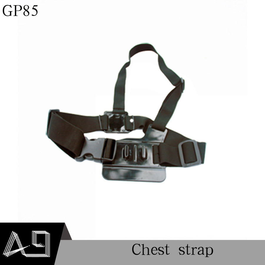 A9 Adjustable Light Weight 3 Points Easy Elastic Body Chest Strap Mount Belt For Sport Camera GoPro HD Hero 4 3+ 2 1 SJ4000 GP85
