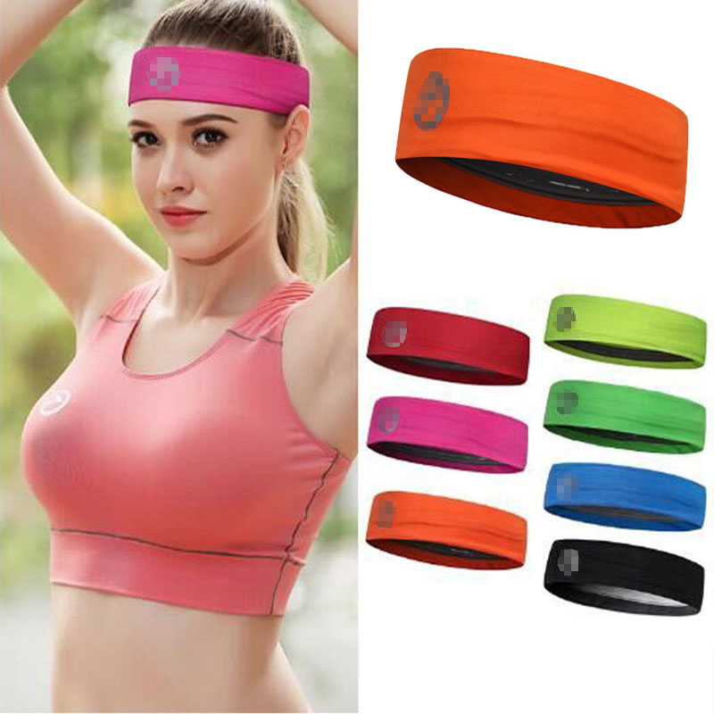 2018 Candy Color Men Women Absorb Sweat Yoga Headwrap Sports Running Fitness Headband Hair Accessories Unisex Sport Hair Band new design milk silk material fashion style lady wide yoga hair band sport sweat headband popular hair accessories for women
