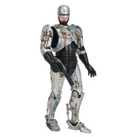 7inches Robocop Action Figure Battle Damaged Ver. Model Toys Collections Children Toys Gift
